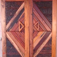 DOUBLE DIAMOND SLEEPER DOOR