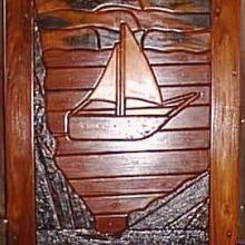 SAILBOAT SLEEPER DOOR 2