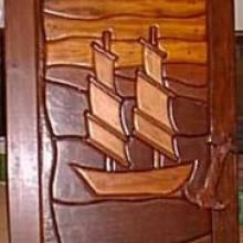 SAILBOAT SLEEPER DOOR