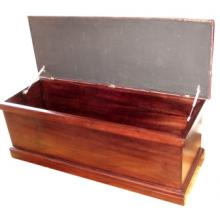 BASIC BED STORAGE BOX  (Leather Deep Buttoned)